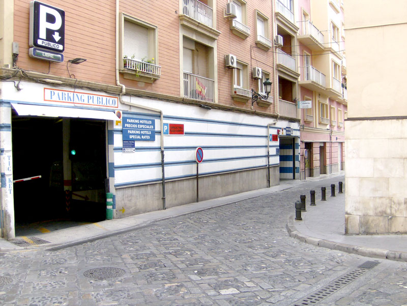 Parking en el centro de Granada: Parking Plaza los Campos